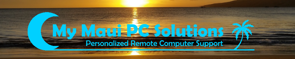 My Maui PC Solutions Computer Repair and Service